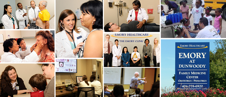 Family Medicine mission collage